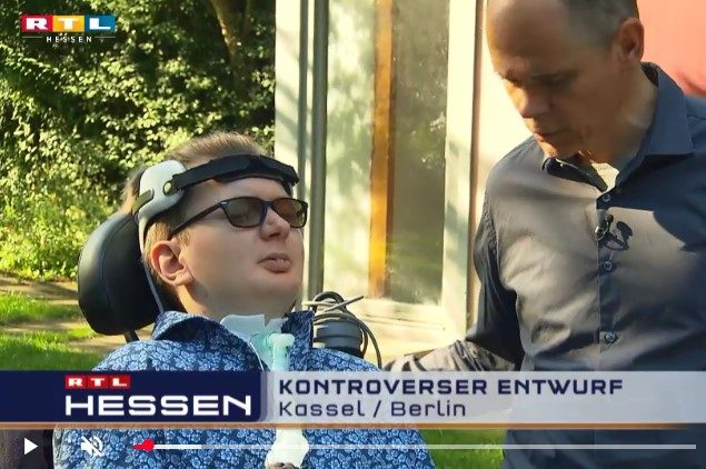 Beitrag RTL-Hessen Jascha Selbstbestimmtes Leben